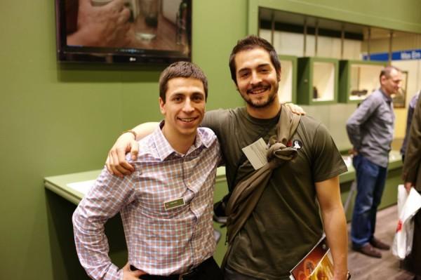 Adam Foss and Pedro Ampuero