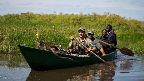 Pedro Ampuero Bowhunting Uganda
