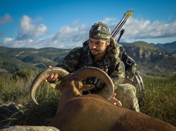 Bowhunting Barbary Sheep Pedro Ampuero