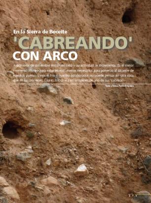 Bowhunting, Caza con Arco Jara y Sedal 2