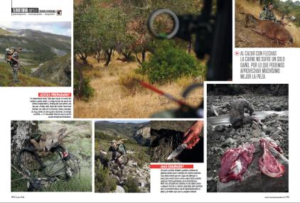 Bowhunting caza con arco Jara y Sedal Carnívoros 1