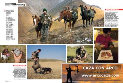 Bowhunting caza con arco Jara y Sedal Carnívoros 2