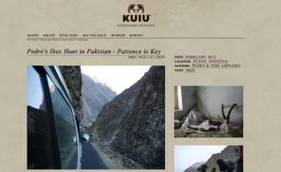 Kuiu - The Hunt: Ibex hunt in Pakistan