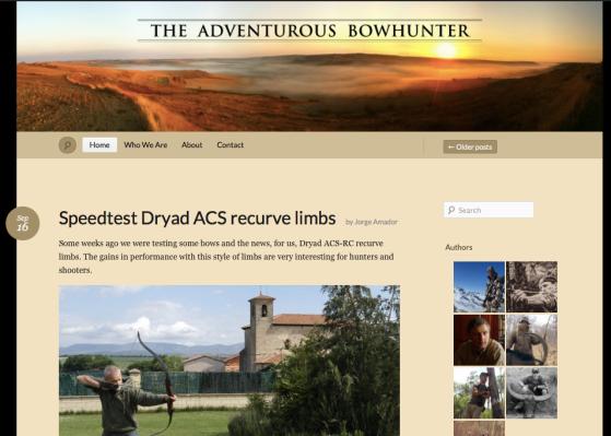 Adventuous bowhunter Pedro Ampuero