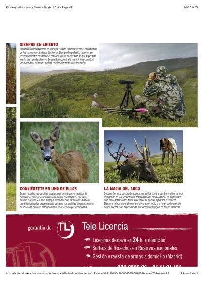 Jara y Sedal - Roe Deer 4