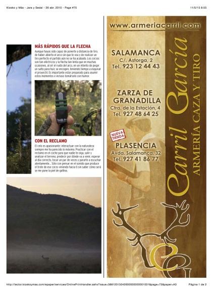 Jara y Sedal - Roe Deer 6