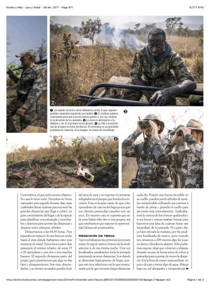 Kiosko y Más - Jara y Sedal - 26 abr. 2017 - Page #71