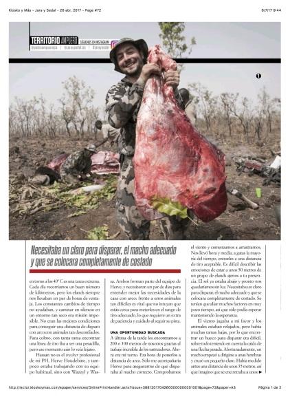 Kiosko y Más - Jara y Sedal - 26 abr. 2017 - Page #72