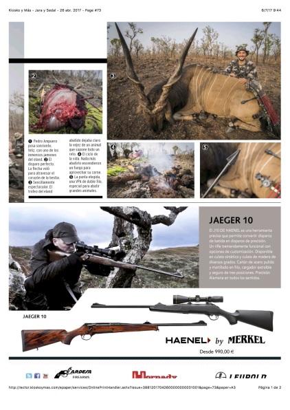 Kiosko y Más - Jara y Sedal - 26 abr. 2017 - Page #73