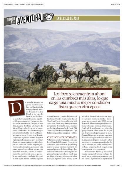 Kiosko y Más - Jara y Sedal - 26 feb. 2017 - Page #40