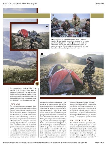 Kiosko y Más - Jara y Sedal - 26 feb. 2017 - Page #41