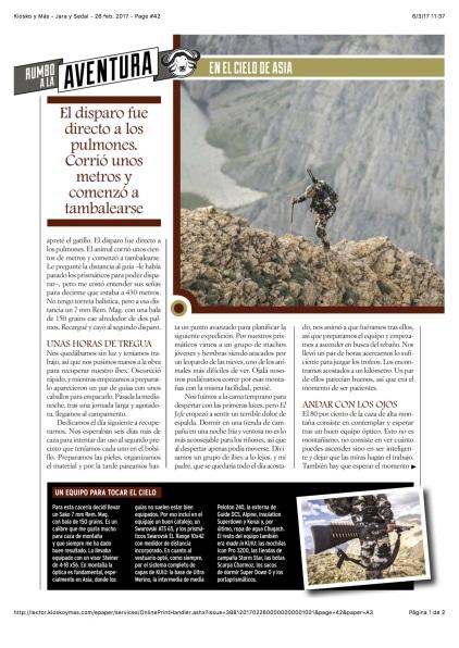 Kiosko y Más - Jara y Sedal - 26 feb. 2017 - Page #42