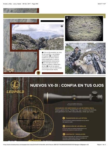 Kiosko y Más - Jara y Sedal - 26 feb. 2017 - Page #43