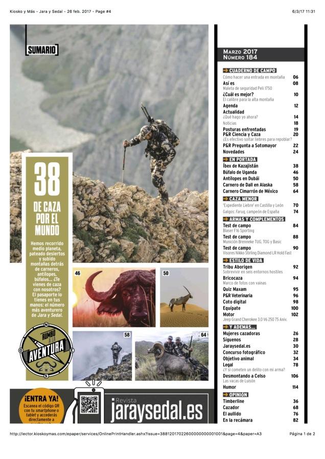 Kiosko y Más - Jara y Sedal - 26 feb. 2017 - Page #4