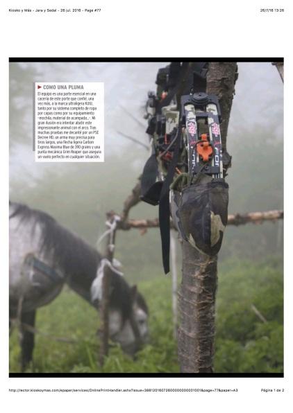 Kiosko y Más - Jara y Sedal - 26 jul. 2016 - Page #77