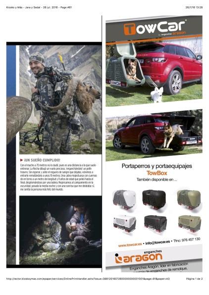 Kiosko y Más - Jara y Sedal - 26 jul. 2016 - Page #81