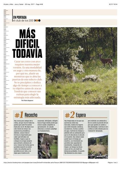 Kiosko y Más - Jara y Sedal - 26 may. 2017 - Page #48