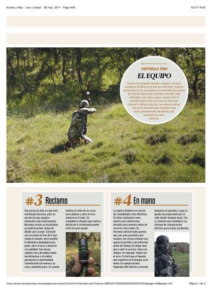 Kiosko y Más - Jara y Sedal - 26 may. 2017 - Page #49