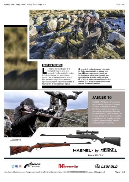 Kiosko y Más - Jara y Sedal - 26 may. 2017 - Page #73