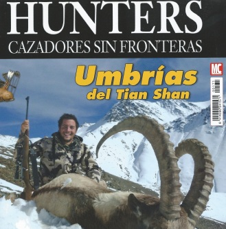 Portada hunters PEdro Ampuero