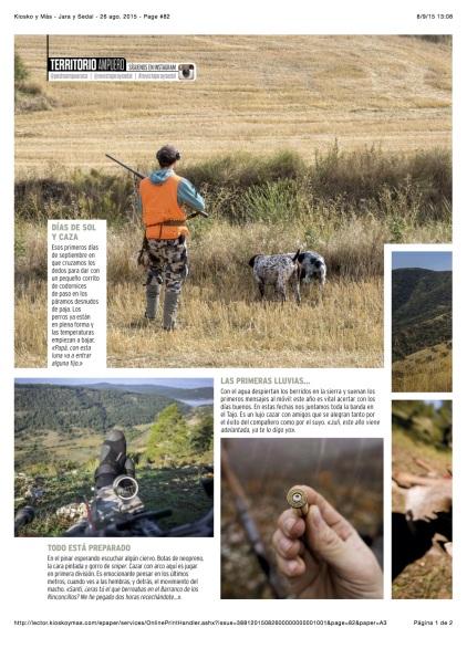 Kiosko y Más - Jara y Sedal - 26 ago. 2015 - Page #82