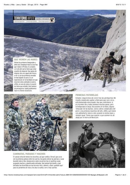 Kiosko y Más - Jara y Sedal - 26 ago. 2015 - Page #84