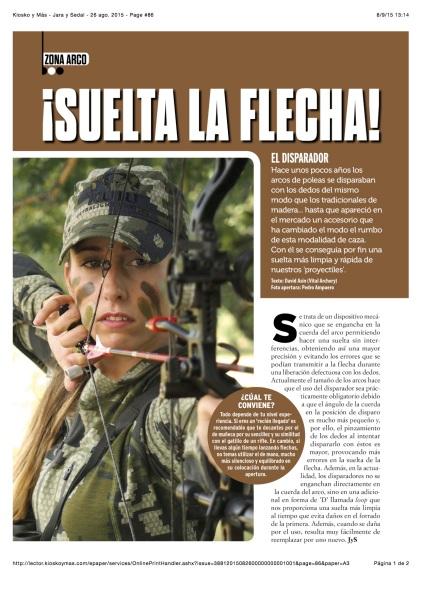Kiosko y Más - Jara y Sedal - 26 ago. 2015 - Page #86