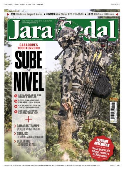 Kiosko y Más - Jara y Sedal - 26 may. 2018 - Page #1