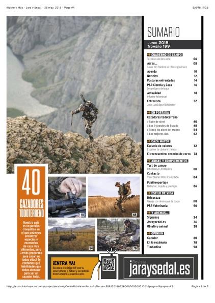 Kiosko y Más - Jara y Sedal - 26 may. 2018 - Page #4