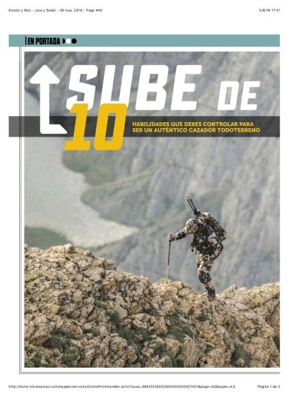Kiosko y Más - Jara y Sedal - 26 may. 2018 - Page #40