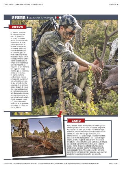 Kiosko y Más - Jara y Sedal - 26 may. 2018 - Page #50
