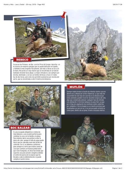 Kiosko y Más - Jara y Sedal - 26 may. 2018 - Page #53